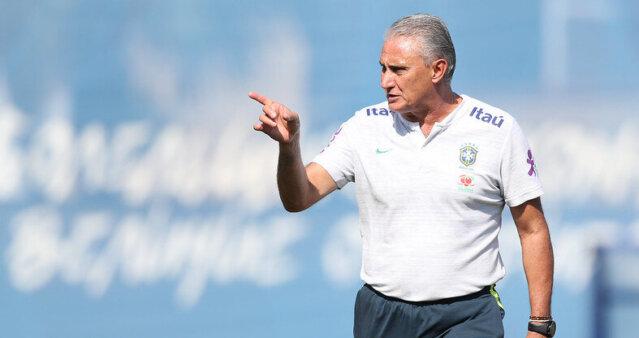 Tite falou sobre a escalação do Brasil.