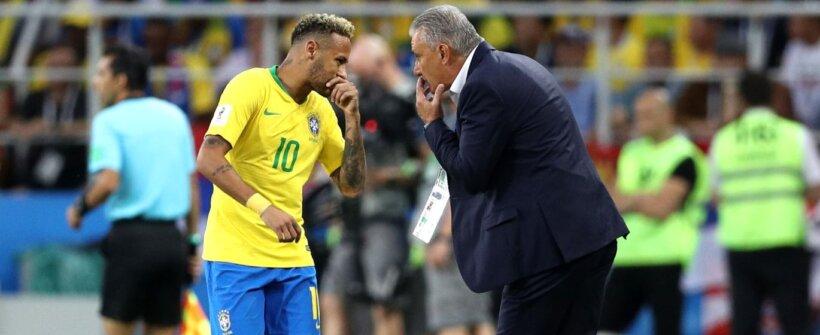 """Tite: """"Queriam saber como ganhamos sem o Neymar"""""""