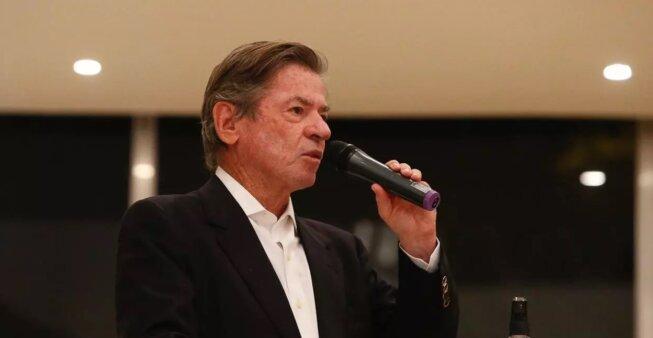 Jorge Salgado é o presidente do Vasco