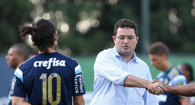 Mattos e Valdivia no Palmeiras