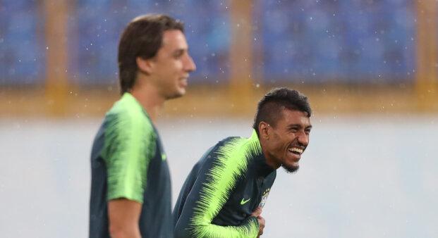 Paulinho e Geromel na Seleção Grêmio