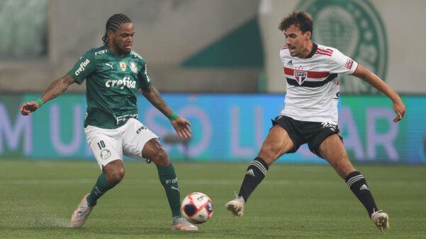 Palmeiras e São Paulo na Libertadores