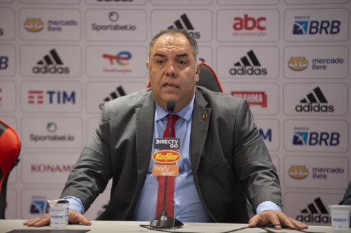 Marcos Braz fala sobre Gabigol no Flamengo