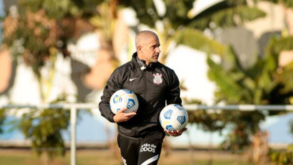 Sylvinho no Corinthians