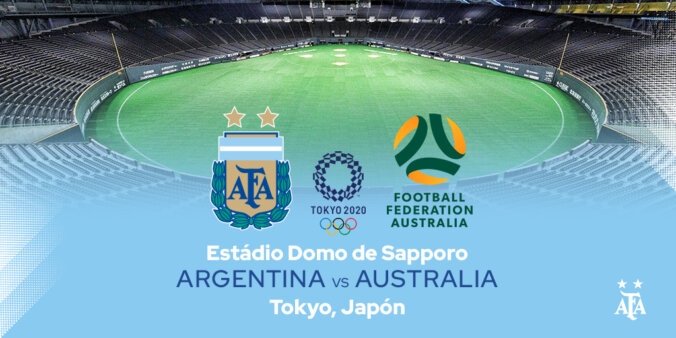 Argentina x Austrália, Olimpíadas