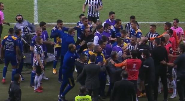 Atlético x Boca Juniors