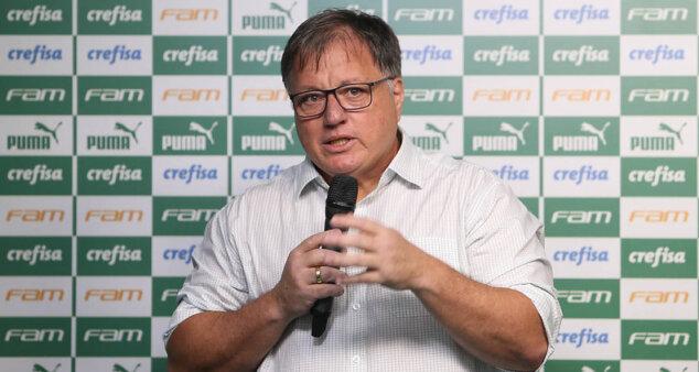 Palmeiras falou sobre possíveis saídas.