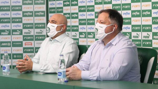Palmeiras teve dia agitado.