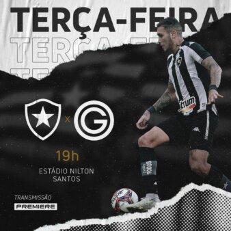 Botafogo x Goiás guia