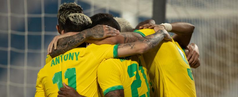 Brasil sofre, mas vira contra EAU no último amistoso antes das Olimpíadas