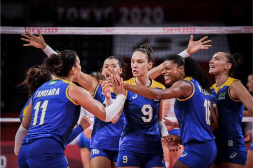 Brasil vence Sérvia com atuação convincente pelos Jogos Oímpicos