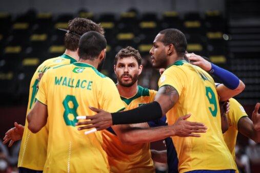 Brasil x EUA vôlei masculino Olimpíadas AO VIVO