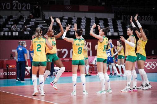 Brasil x República Dominicana Olimpíadas Vôlei Feminino AO VIVO