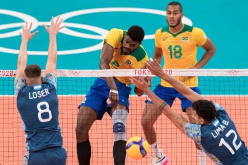 Brasil x Rússia vôlei masculino Olimpíadas AO VIVO