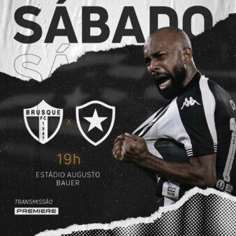Brusque x Botafogo guia