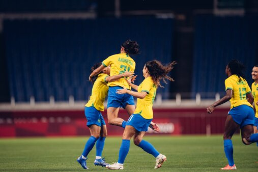 Canadá x Brasil futebol feminino Olimpíadas AO VIVO