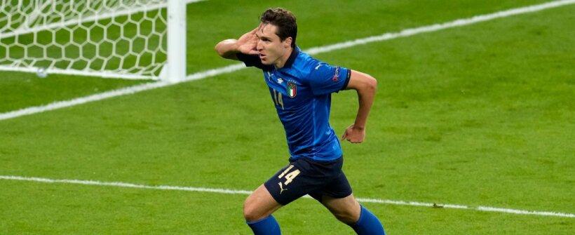 Euro: antes reserva, Chiesa se consolida como herói da Itália