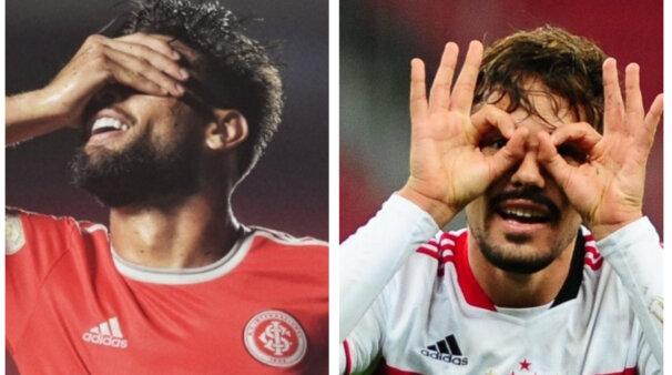 Provocação? Igor Gomes comenta comemoração após gol no Internacional