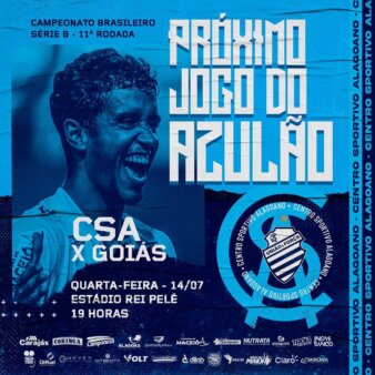 CSA x Goiás guia