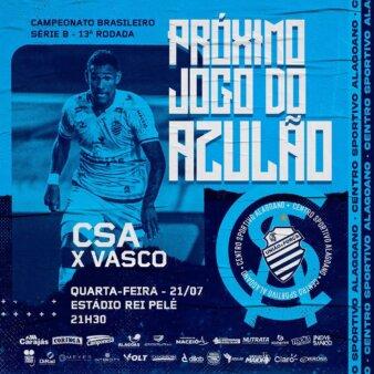 CSA x Vasco guia