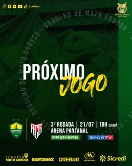 Cuiabá x Atlético-GO guia
