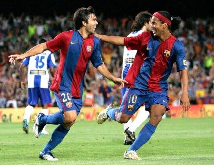 Deco e Ronaldinho