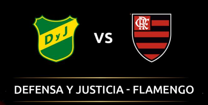 Defensa y Justicia x Flamengo assistir