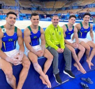 Olimpíadas: Ginastas do Brasil fazem treino de pódio; Zanetti fica de fora