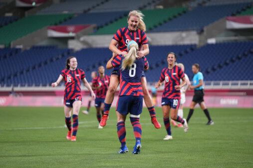 Olimpíadas: Estados Unidos - Nova Zelândia