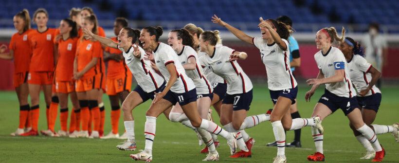 Olimpíadas: EUA batem Holanda nos pênaltis e vão às semis no feminino