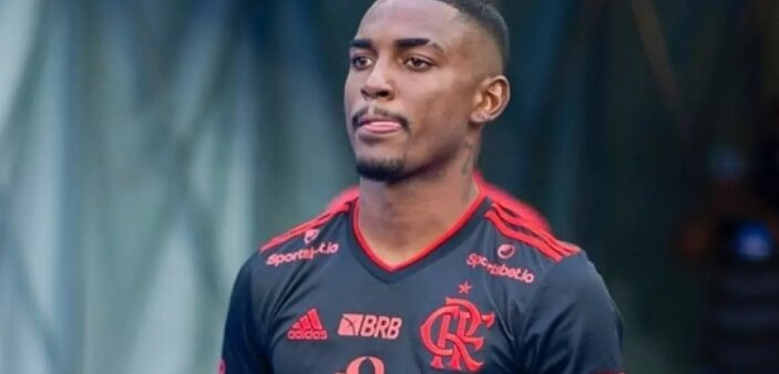Ramon em ação pelo Flamengo