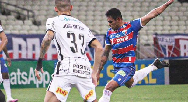 Fortaleza x Corinthians gols