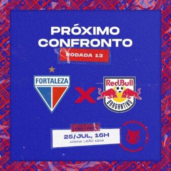 Fortaleza x Red Bull Bragantino guia