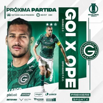 Goiás x Operário-PR guia