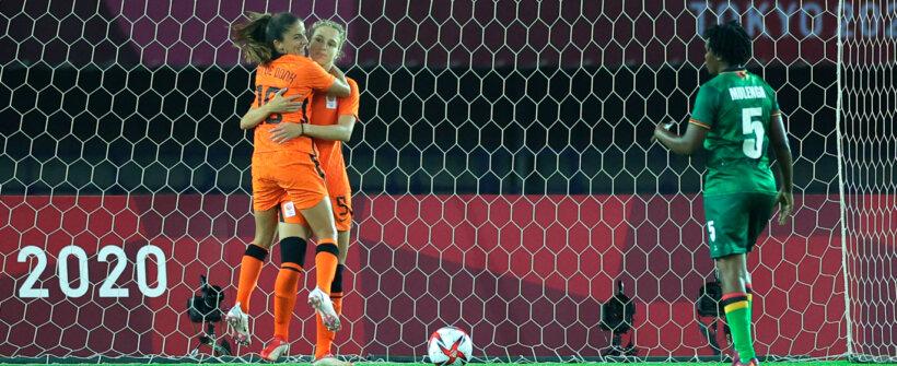 Olimpíada de Tóquio: Holanda e Zâmbia fazem jogo histórico de 13 gols