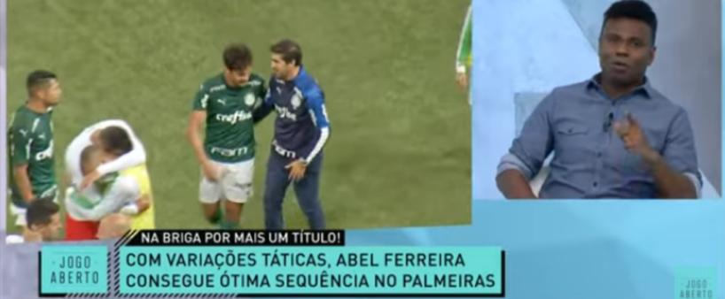 """Edílson aponta equipe favorita para vencer o Brasileirão: """"Tá com sorte de campeão"""""""