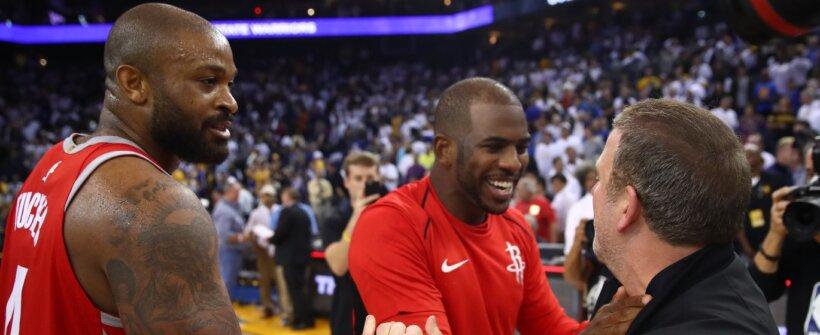 Eliminado, Harden verá ex-Rockets serem campeões da NBA antes dele