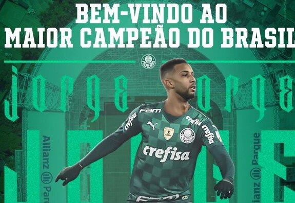 Salário milionário: Saiba quanto Jorge vai receber no Palmeiras