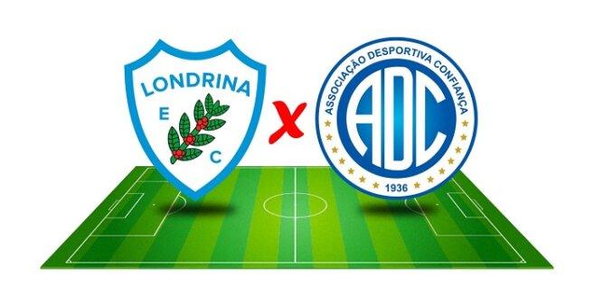 Londrina x Confiança AO VIVO pelo Campeonato Brasileiro Série B