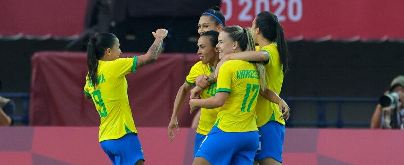 Olimpíada: vitória contra a China consagra artilheiras do Brasil com Pia