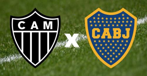 Atlético-MG x Boca Juniors