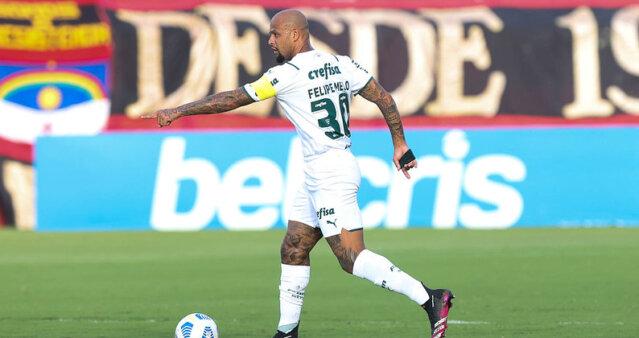 Felipe Melo tem futuro indefinido no Palmeiras.