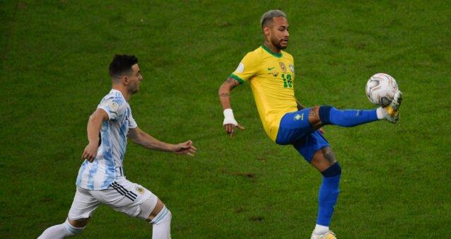 Brasil x Argentina na final da Copa América