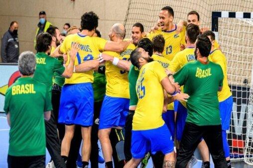 Noruega x Brasil handebol masculino Olimpíadas AO VIVO