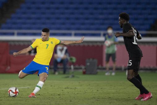 Paulinho marcou nas Olimpíadas.
