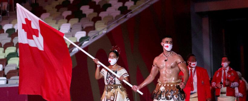 """Olimpíada de Tóquio: redes reagem ao """"besuntado de Tonga""""; confira"""