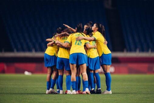 Provável escalação Brasil Canadá Olimpíadas