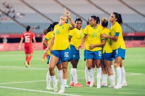Provável escalação Brasil Holanda Futebol feminino Olimpíadas