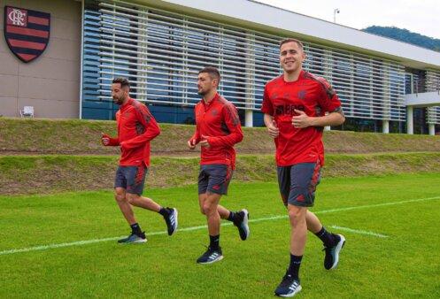 Provável escalação Flamengo Atlético-MG Brasileirão