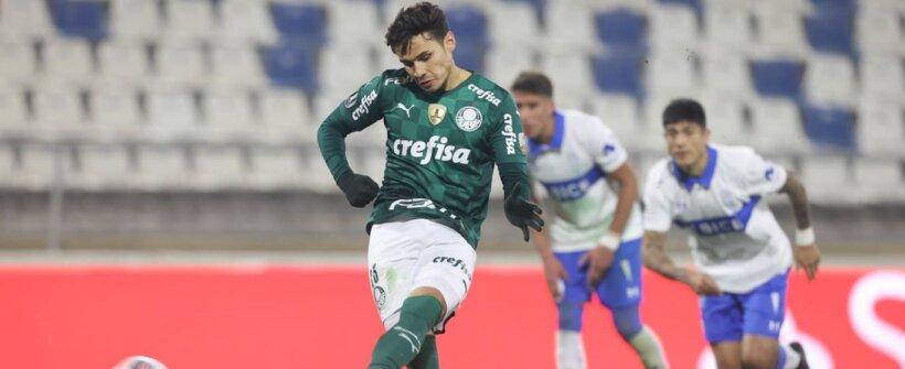 Veiga acerta seu 12º pênalti e segue 100% nas cobranças no Palmeiras